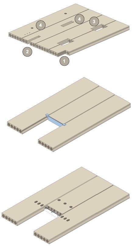 Hollow core slabs | Betonika